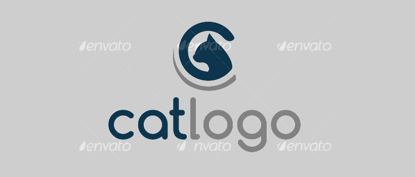 professional cat logo