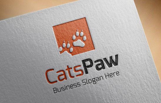 Elegant Cat Logo
