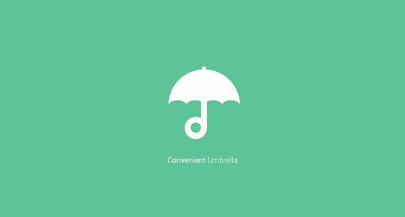 convenient umbrella logo
