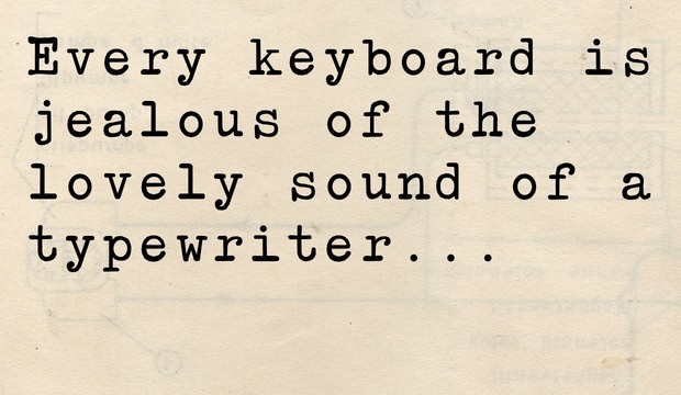 Awesome Quote Type writer Font