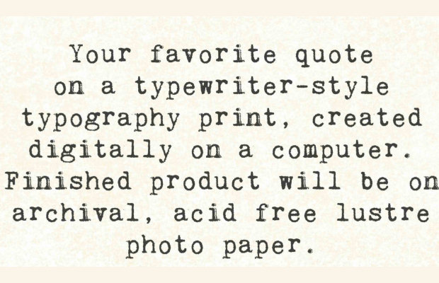 Brilliant Type Writer Font