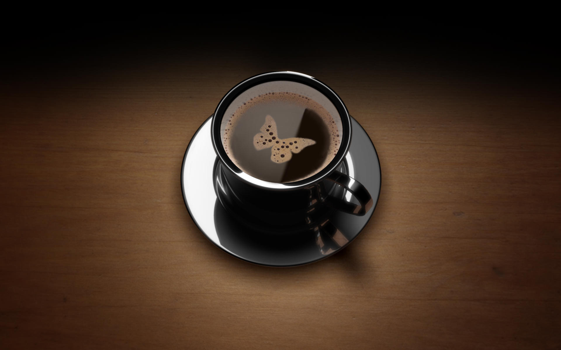 butterfly brown coffee
