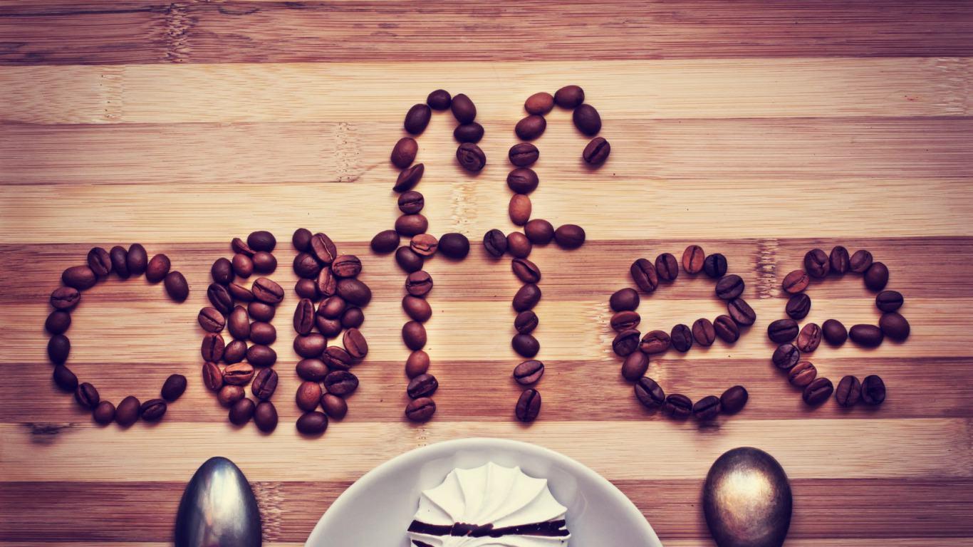 coffee beans as coffee