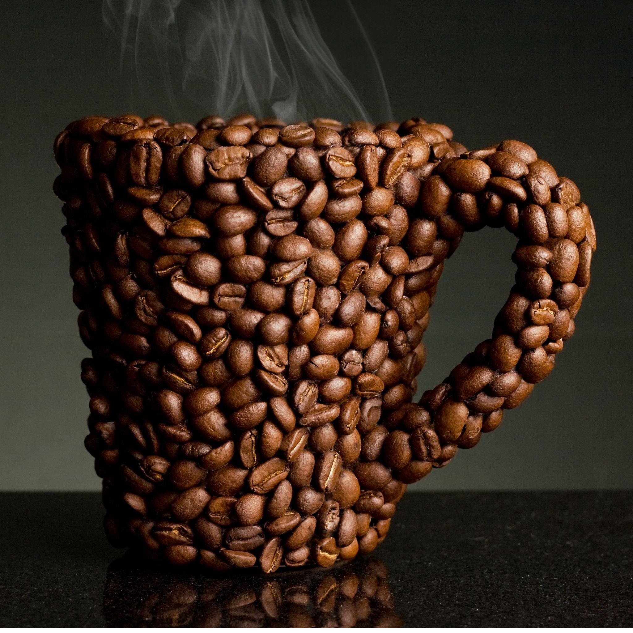 coffee bean cup wallpaper