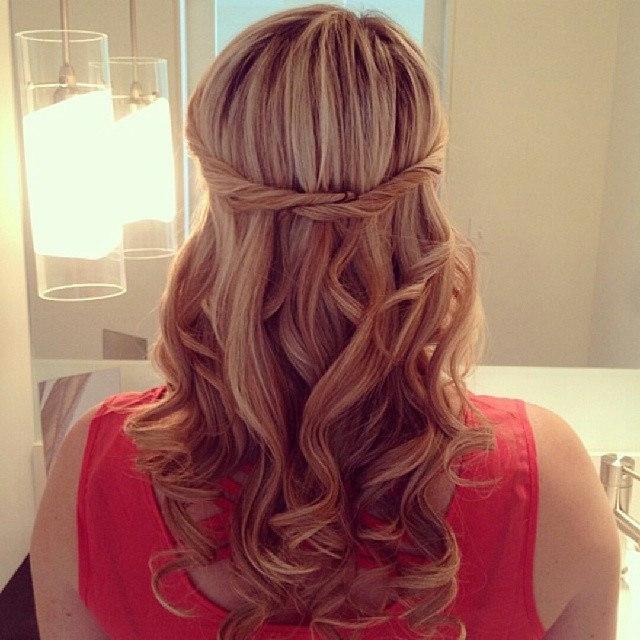 Dry hair twists