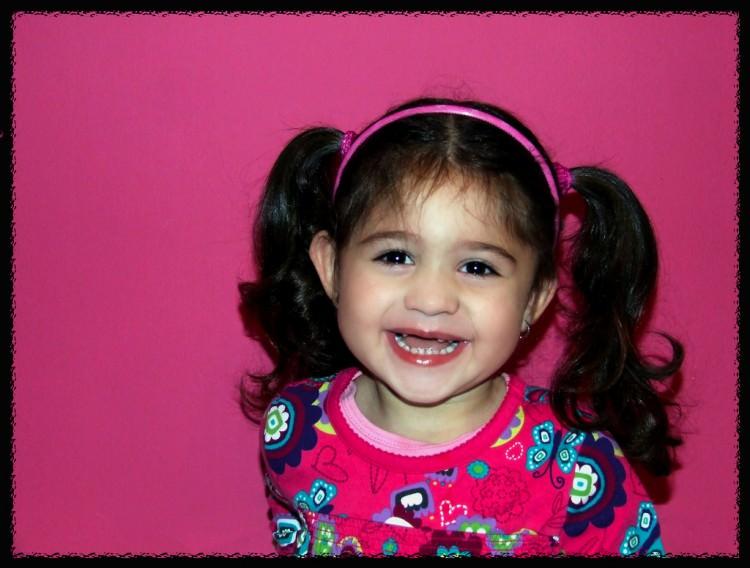 little girls want their natural hair look