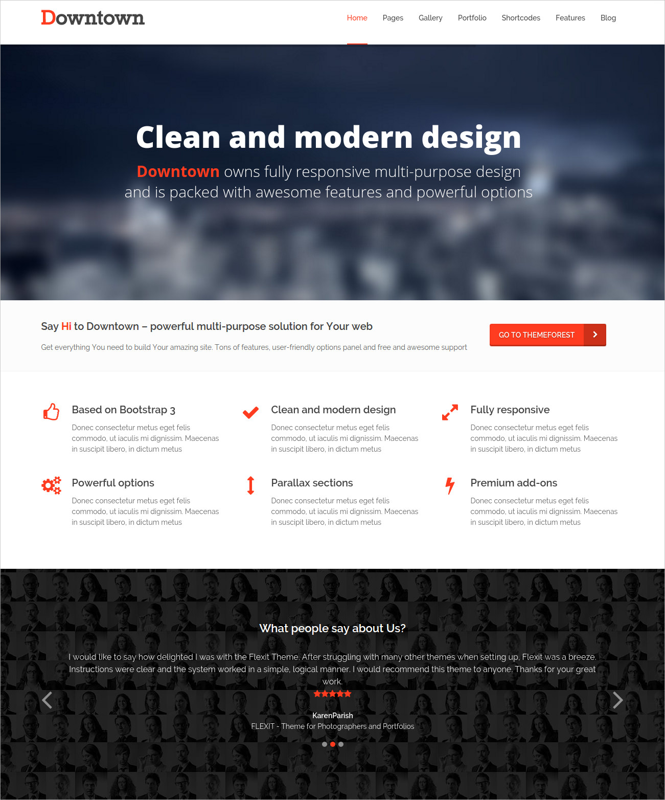 WordPress Multi-Purpose Bootstrap Theme