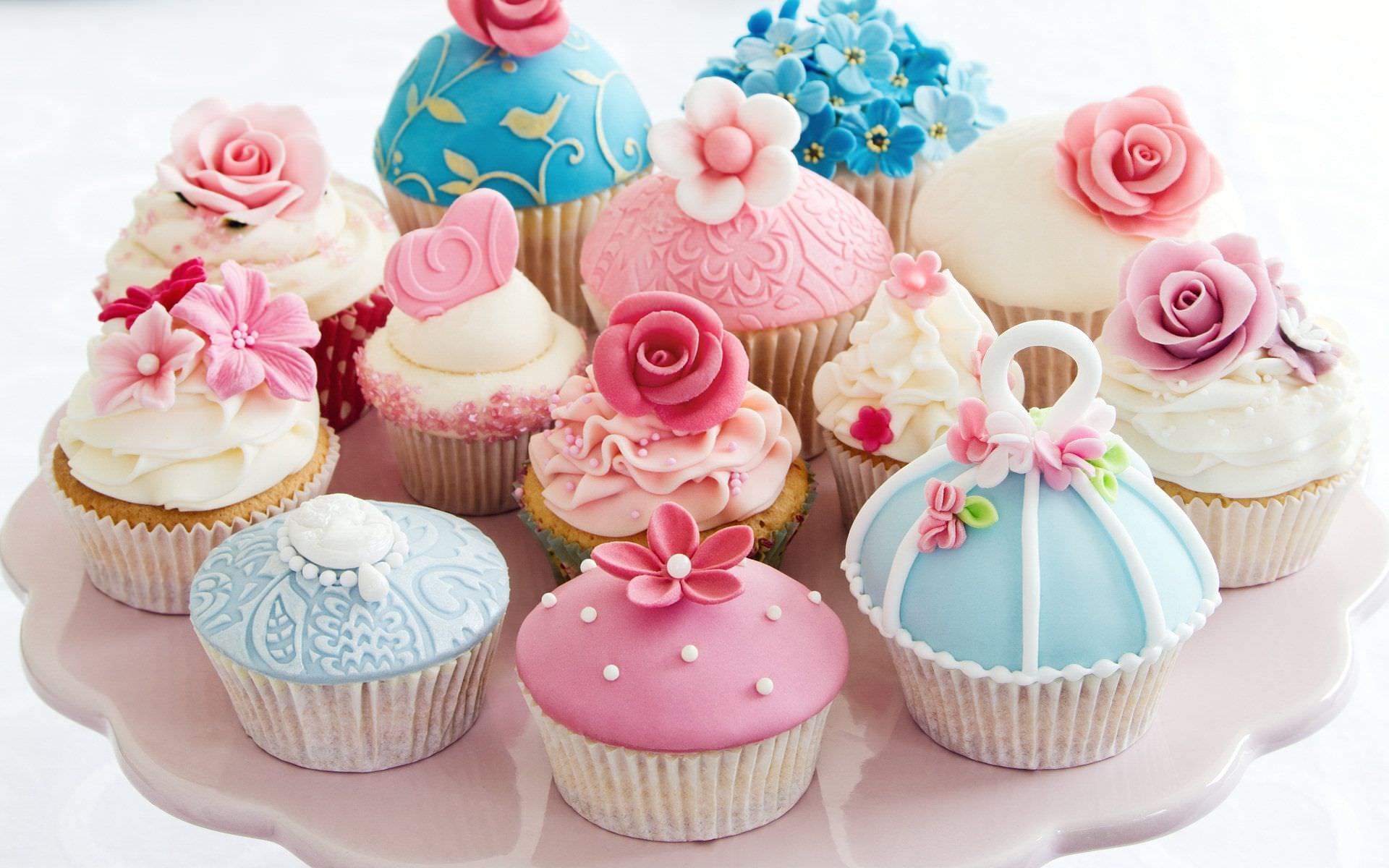Beautiful Cup Cake Wallpaper