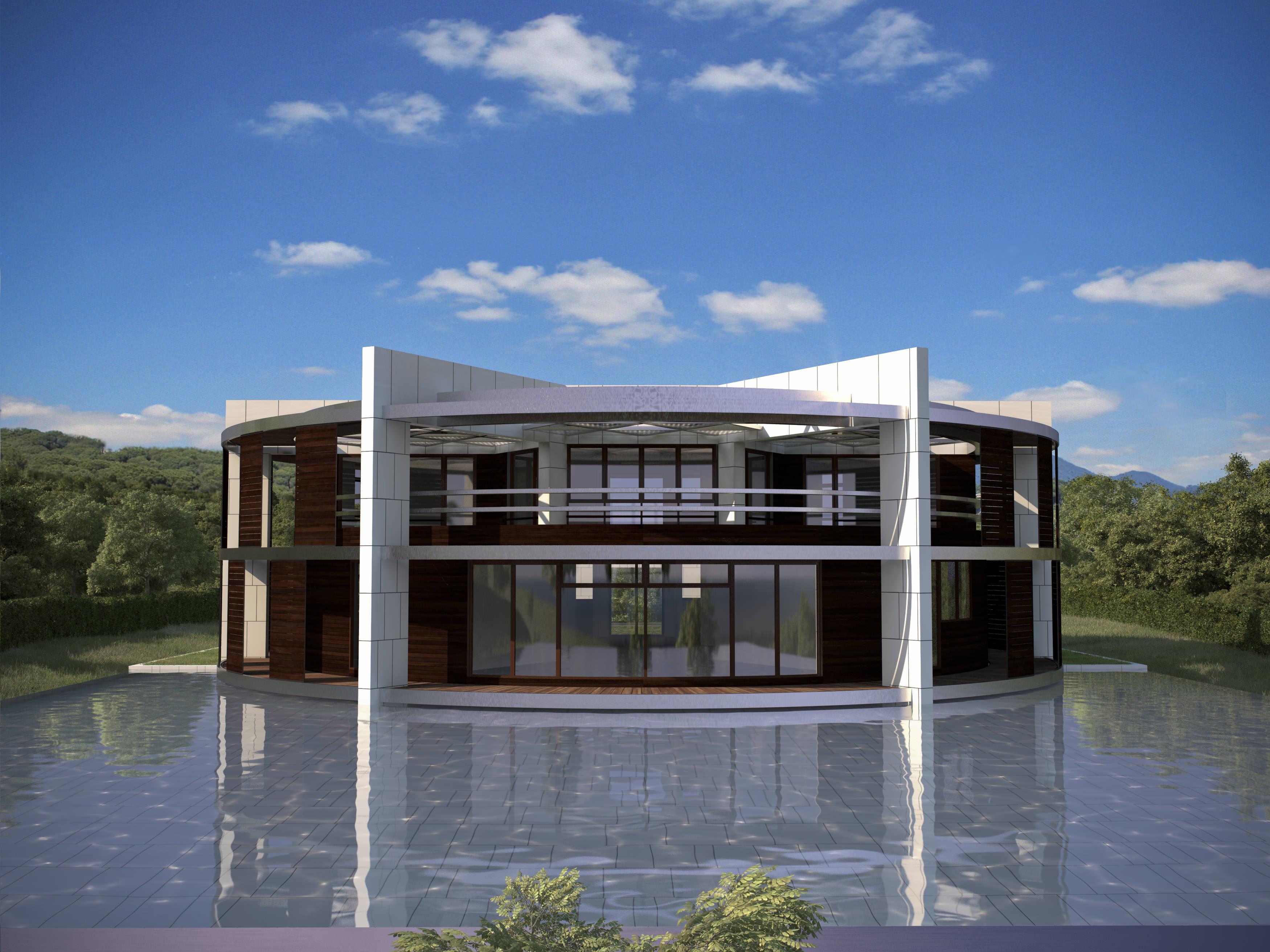 Lionel Messi house design
