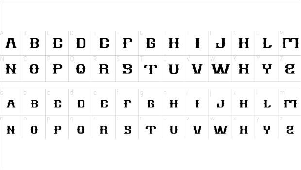 Old Style Vintage Font