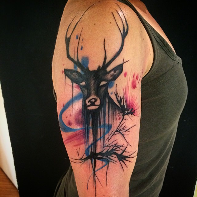 Different Scottish Tattoo Design