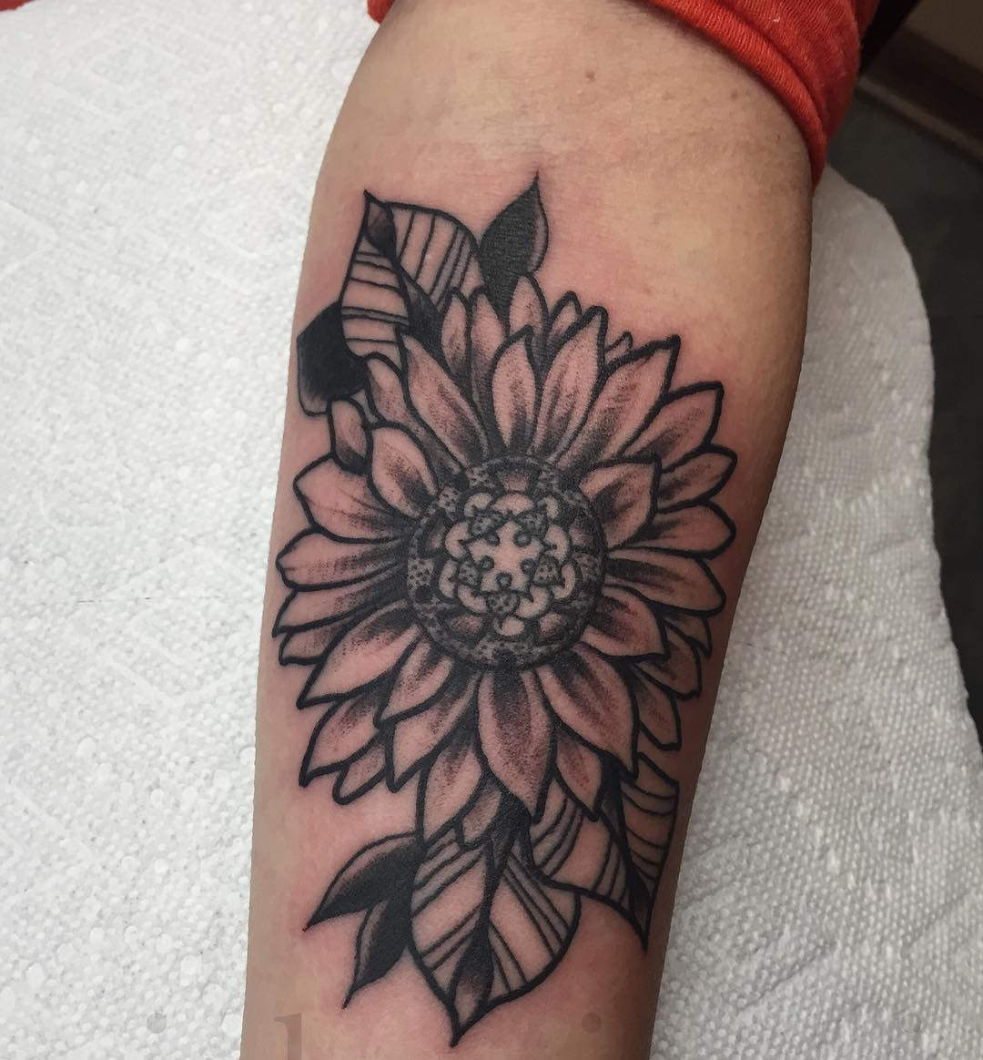 Simple Small Sunflower