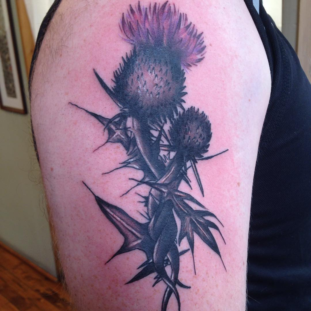 Multi Designed Scottish Tattoo Design