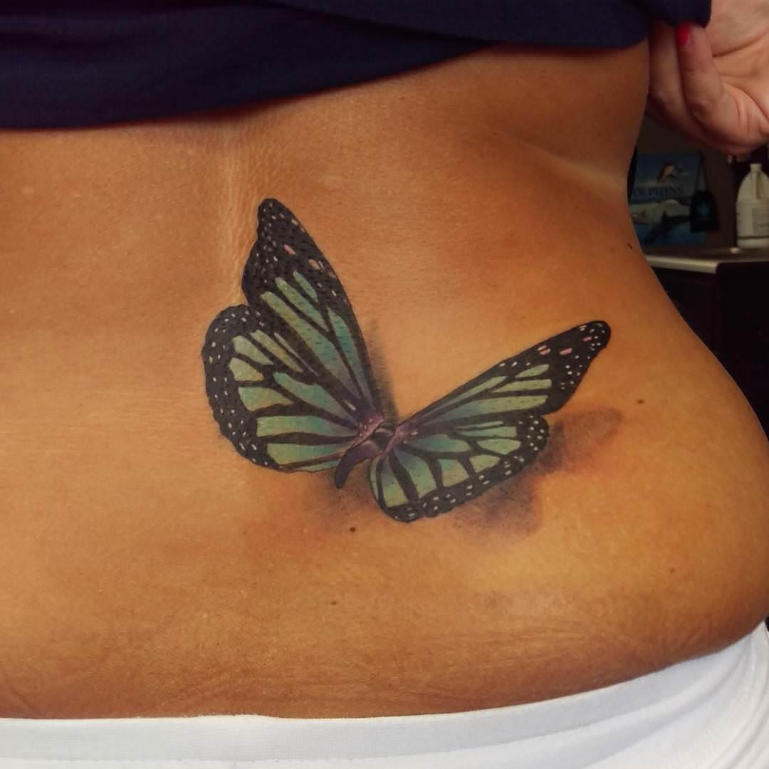 Amazing Butterfly Tattoo Looks Pretty