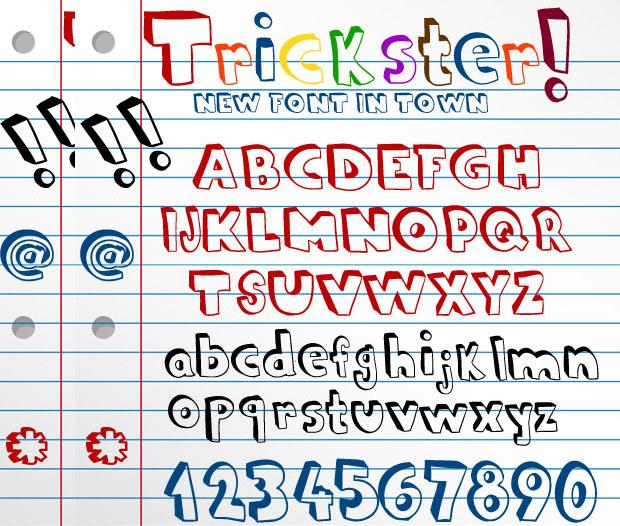 Crazy Doodle Fonts