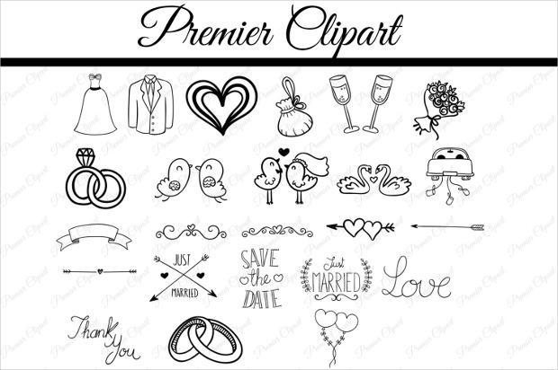 Wedding Doodle Font