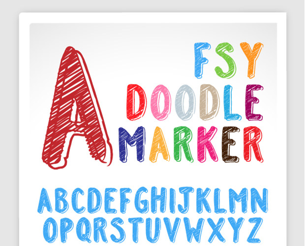 FSY Doodle  Font
