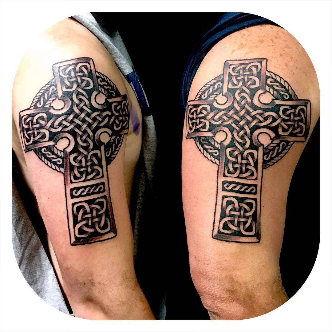 Amazing Tattoo of cross