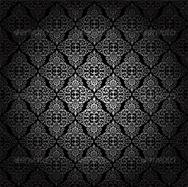 Ornate Black Pattern