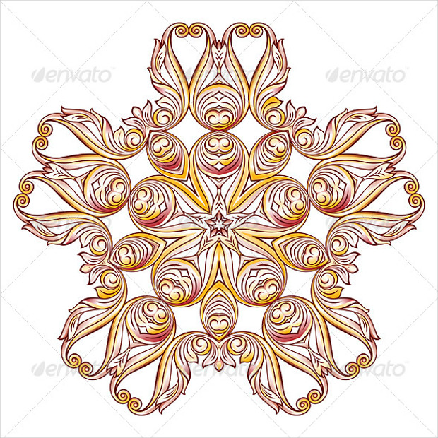 Ornate Floral Design Pattern