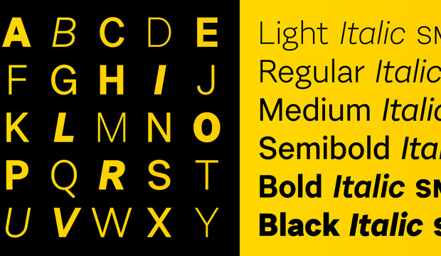 Set of Urban Grotesk Font