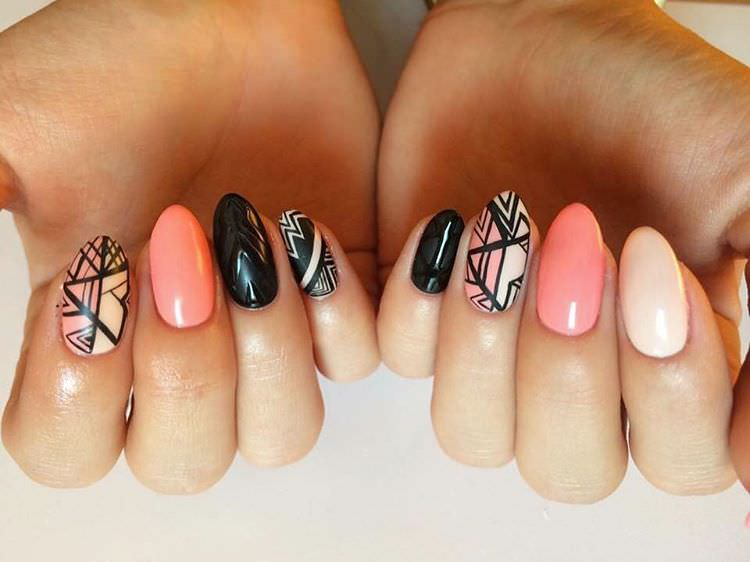 Nice Nail Design For Women - 21+ Aztec Nail Art Designs, Ideas Design Trends - Premium PSD