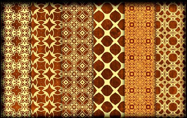 Ornate Golden Pattern Design