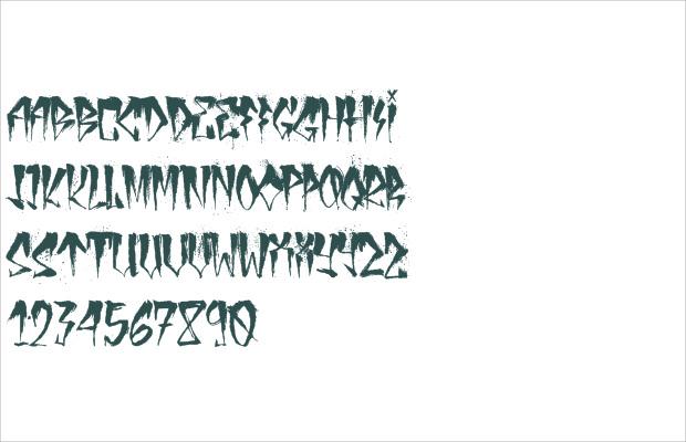 Creative Urban Font Aplphabets