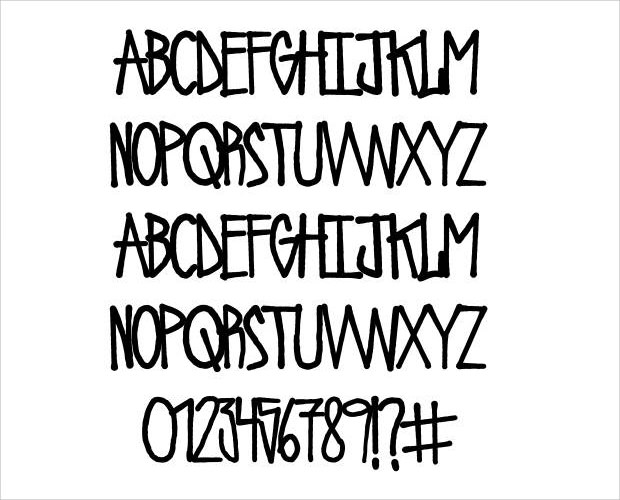 Simple Urban Riot Font