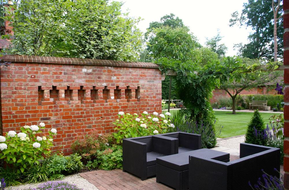 Garden table design With Green grass