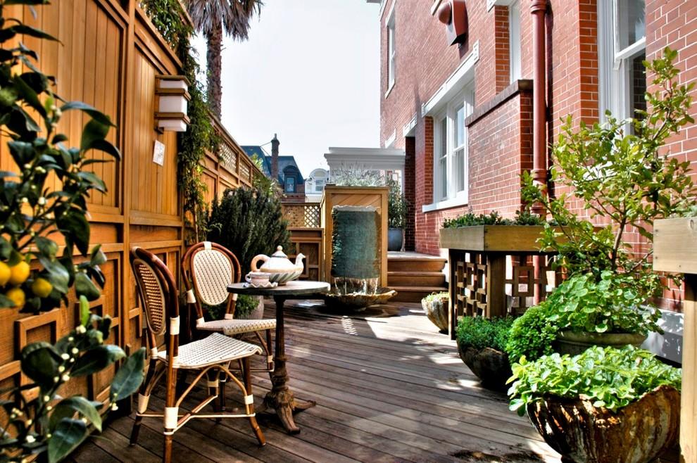 Garden Table Traditional-deck Design