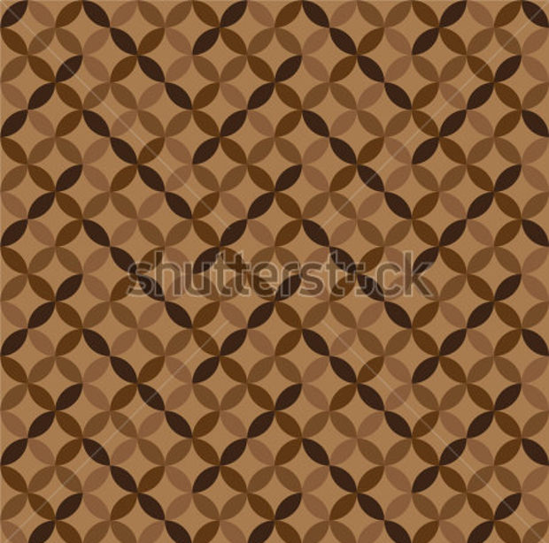 Geometric Brown Pattern