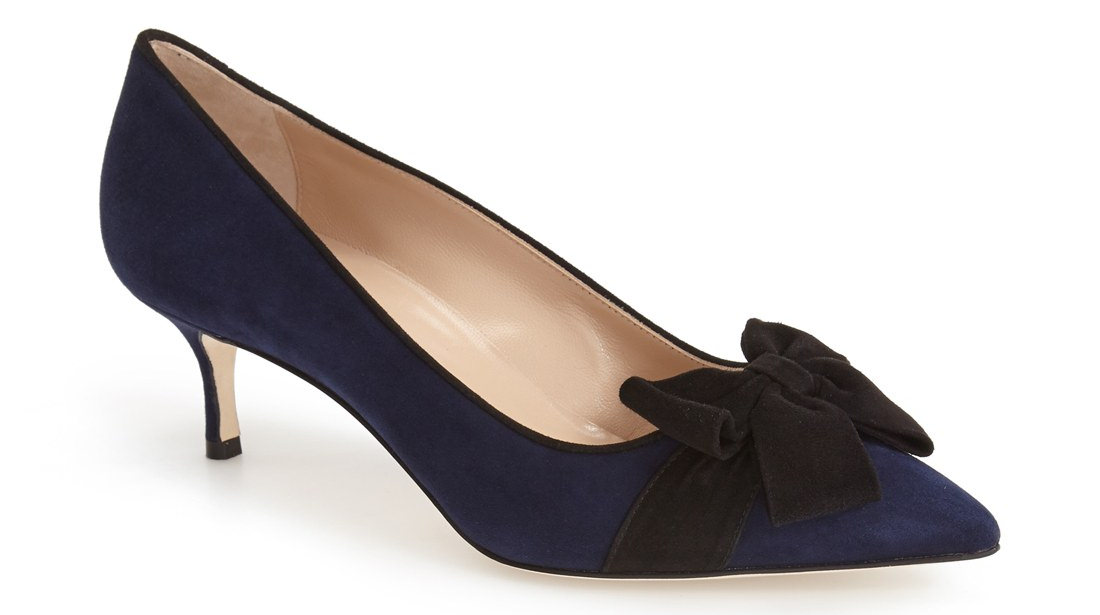 contina pointy toe pump