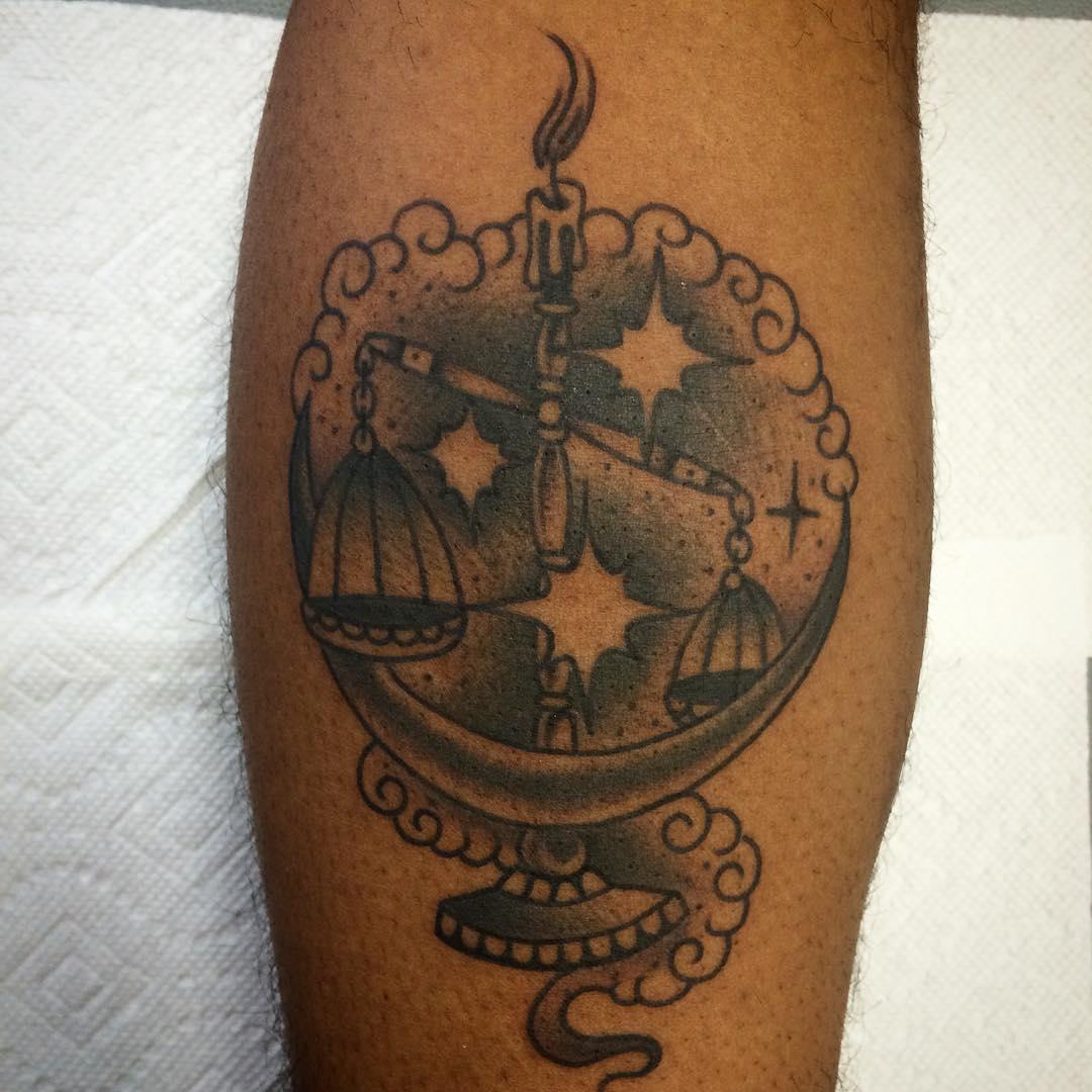 24+ Libra Tattoo Designs, Ideas