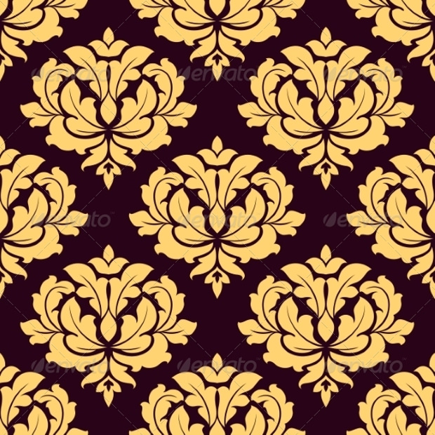 Gold and Brown Pattern