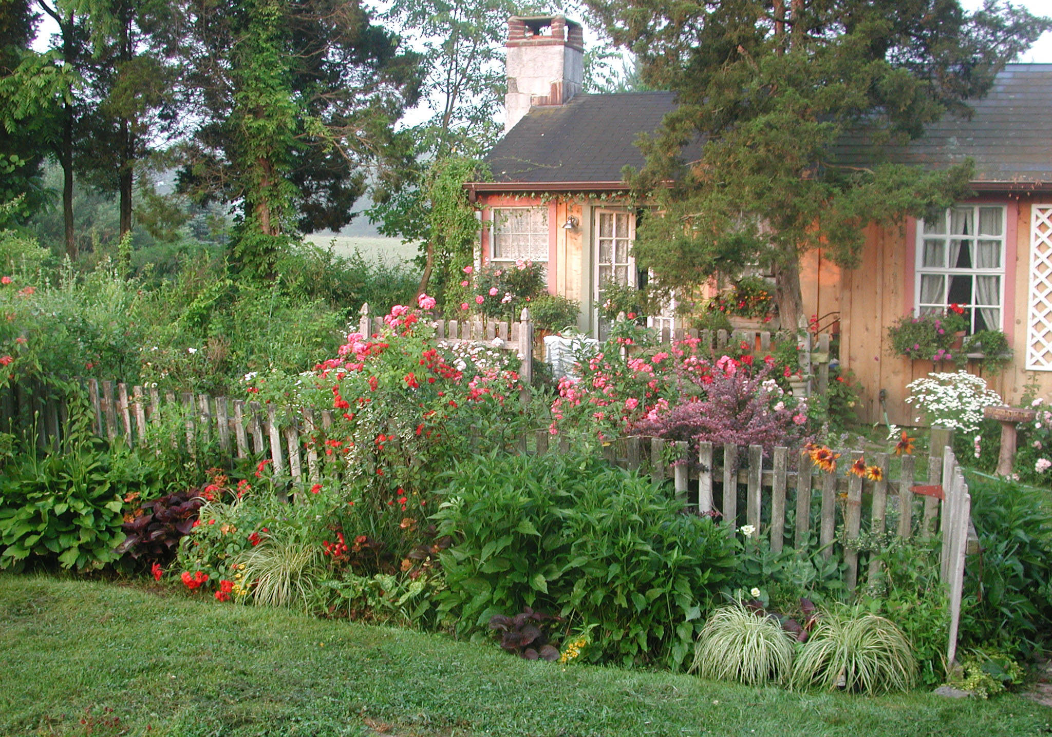 25+ cottage garden designs, decorating ideas, | design