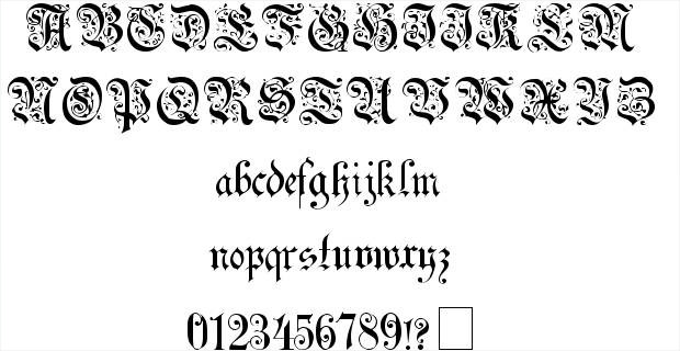 stylish uechi gothic font