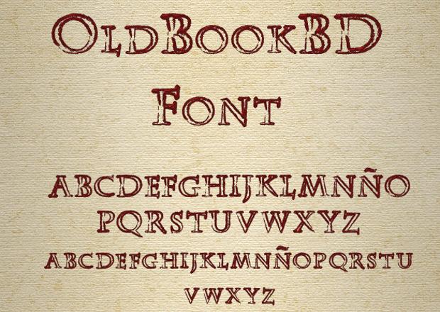 oldbookbd gothic font