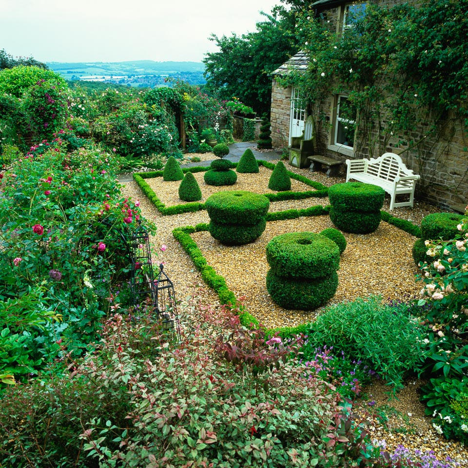 Formal Garden Design Idea: 25+ Formal Garden Designs