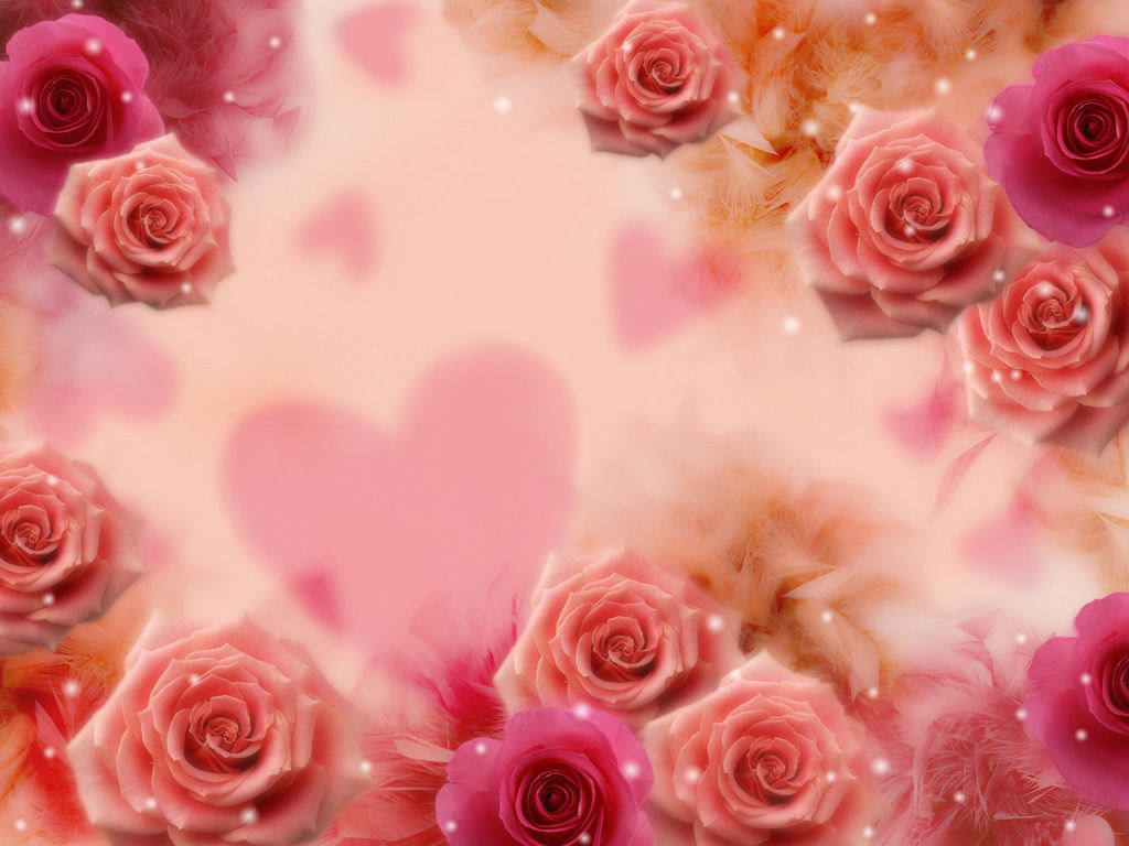 Roses Background for Laptop