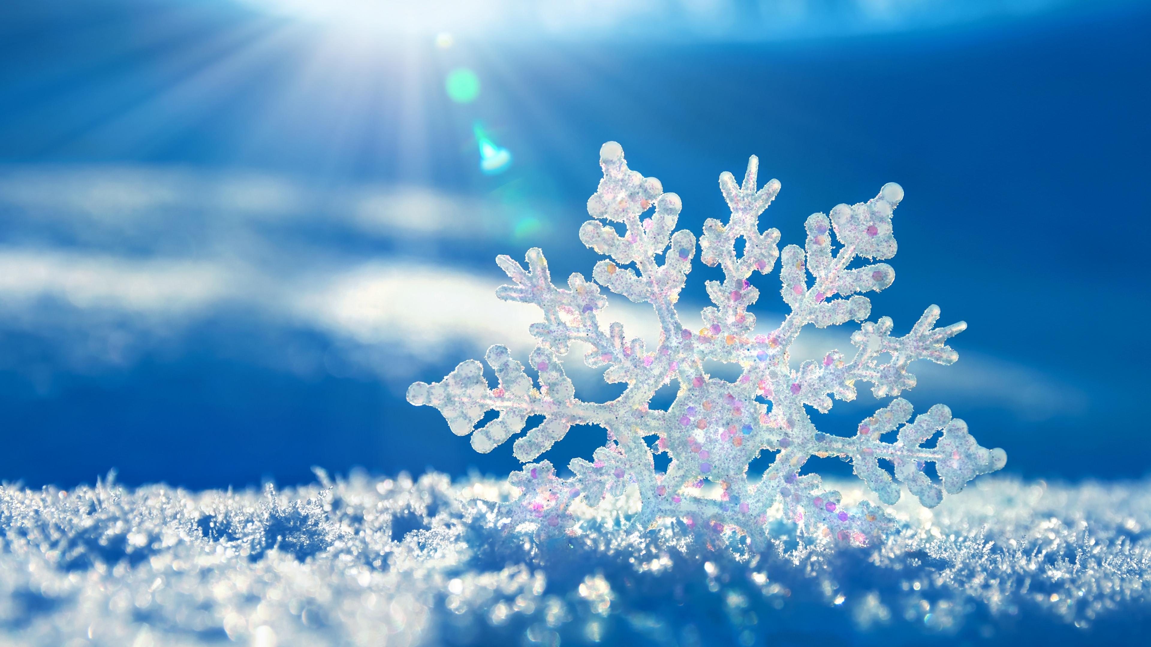 Snowflakes Image Wallpaper