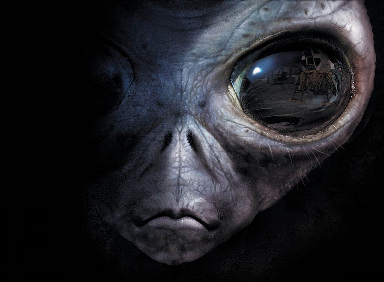 Aliens Horror Wallpaper