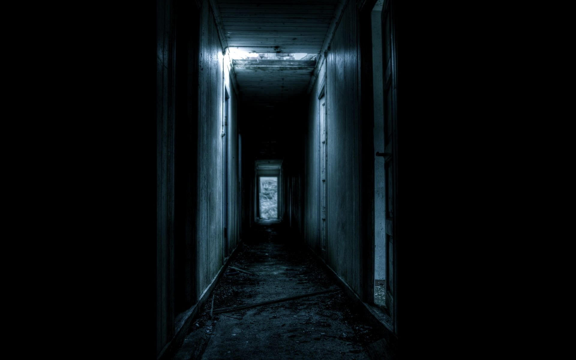 Full Dark Scary Room Background