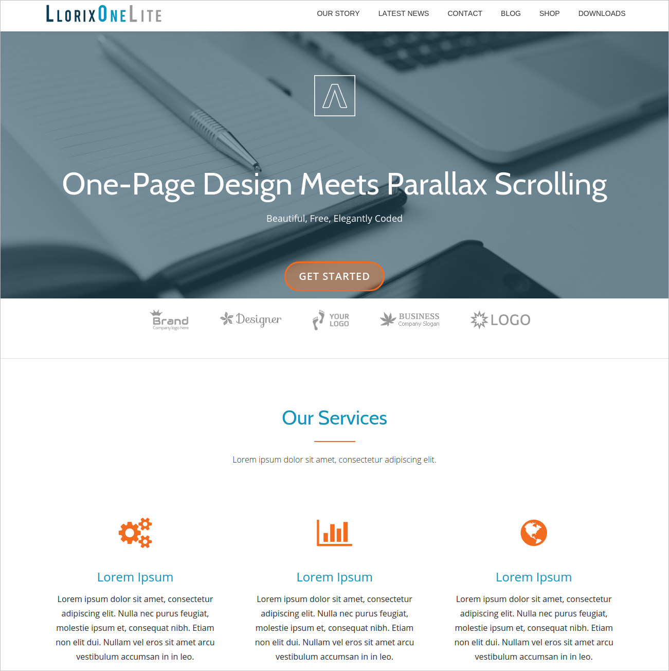 WordPress Theme For Business & Corporate Sites