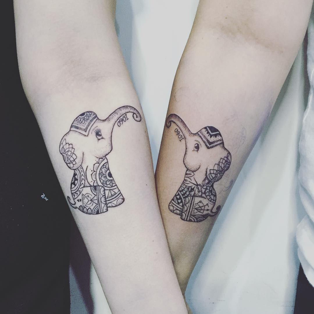 couple tattoo design2
