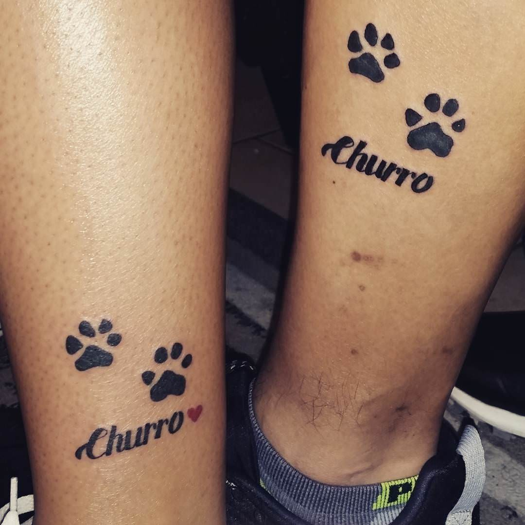 Cute Matching Tattoo Design