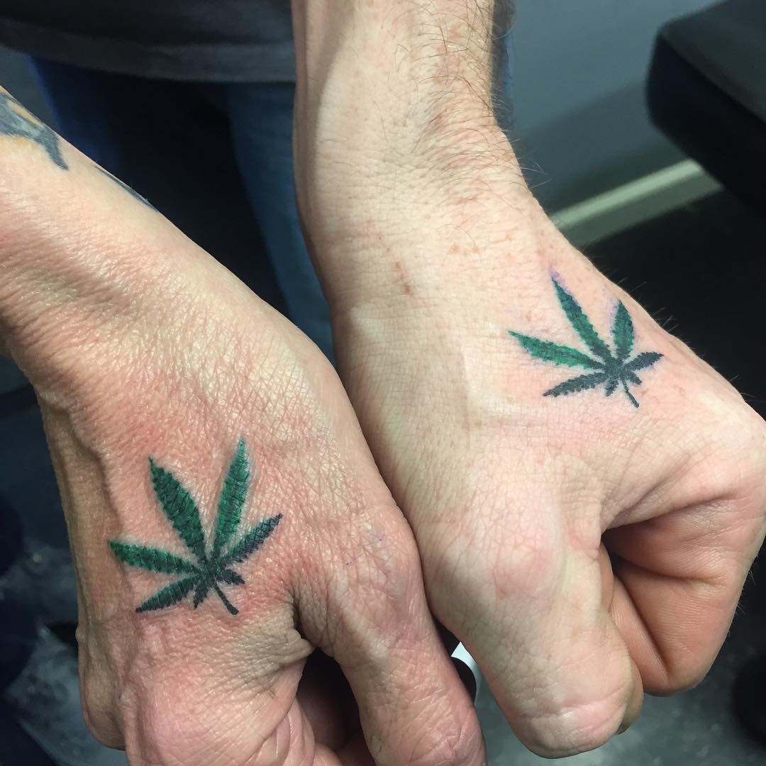 Hand Matching Tattoo Design