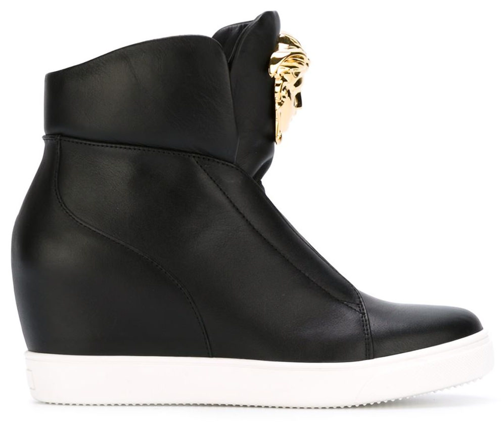 medusa wedge sneakers