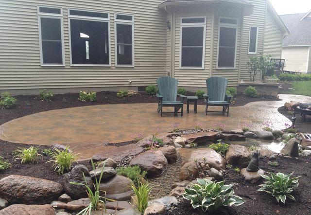 traditional patio backyard designs1