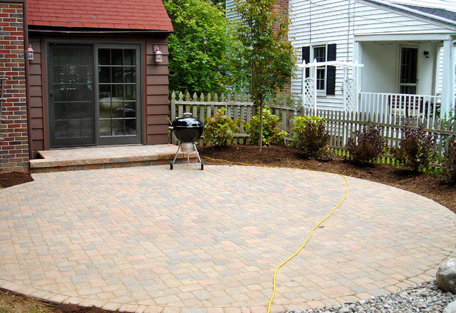 Backyard Patio Designs, Pavers, Stone